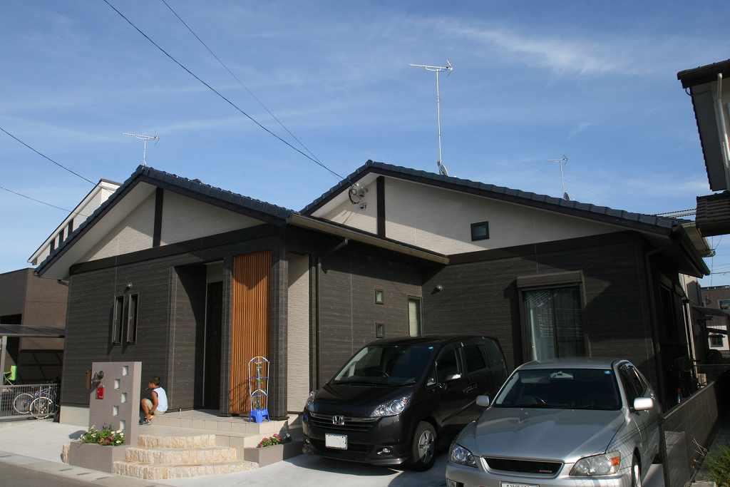 Simple…無駄を省く…理想の家が完成しました。