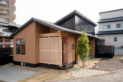 モデルハウス『悠の平屋』(福岡県筑紫野市美しが丘南)