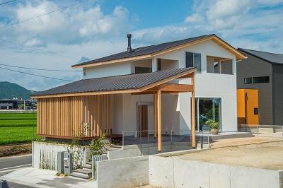 モデルハウス『悠の家』(福岡県朝倉郡筑前町東小田)