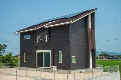 モデルハウス『無垢の家 with ZEH』(福岡県朝倉郡筑前町東小田)